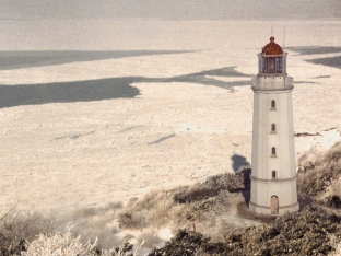 hiddensee leuchtturm winter
